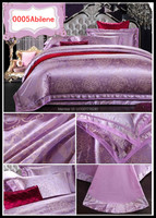 Пододеяльник Reactive Print, cotton Tribute silk jacquard bedding sets, Duvet Cover, Bed sheet, Pillowcase King Queen Full size