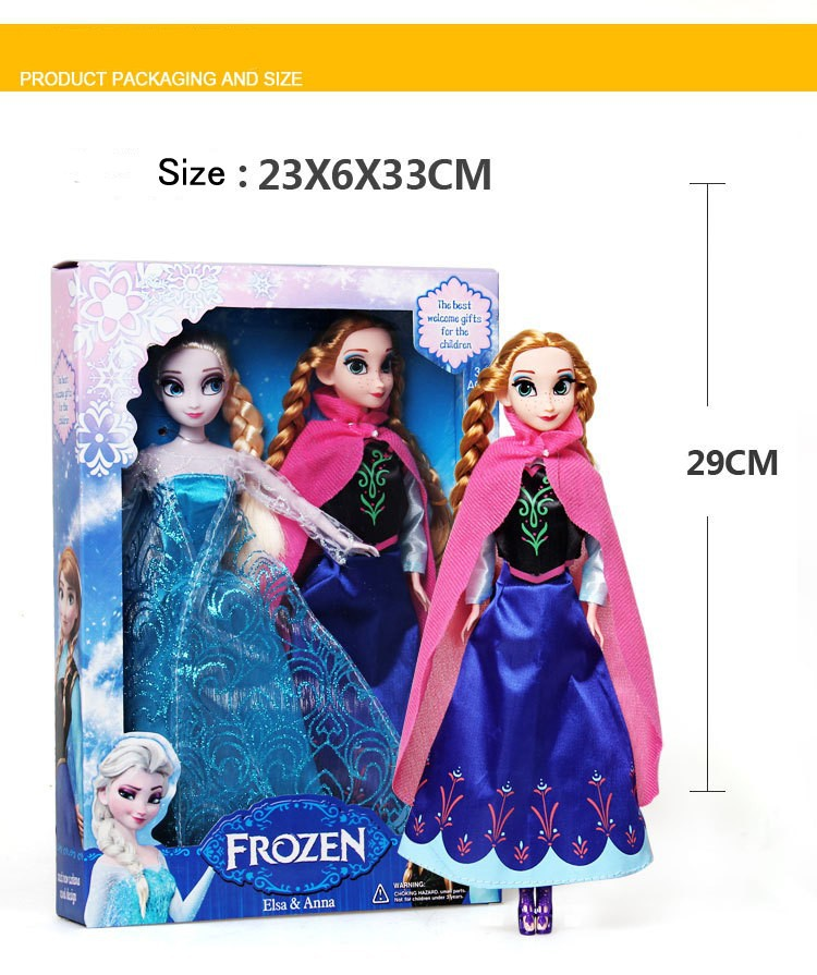 Кукла Frozen ! 11,5 , 4 Platic 8235