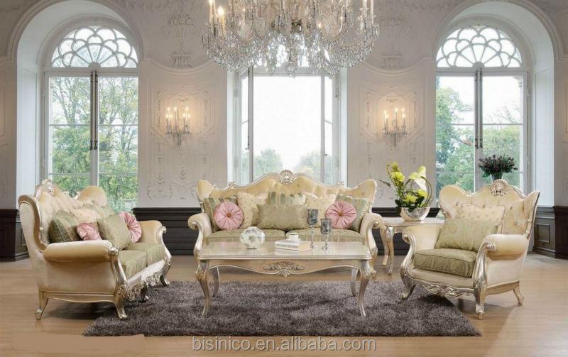 Luxo m veis para sala estilo franc s antigo conjuntos de for Sofa estilo frances