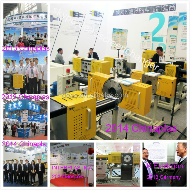 Automatic plastic extrusion mould no stop working