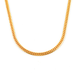 Gold Mens Gold Chain Set