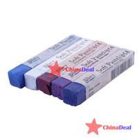 ограниченный chinadeal 5 цветов diy фиолетовый временные пастельных волосы быстро не токсичен расширение краситель Мел высокого качества многоразовые