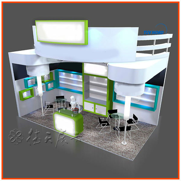 Simple Exhibition Stall : Simple modular exhibition stall design and fabrication