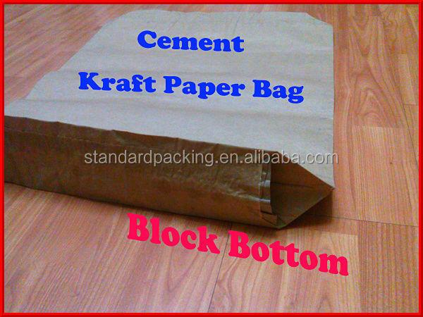 Caco mortier de chaux 25 kg kraft papier valve sac sacs d 39 emballage id de produit 60557177661 - Carre blanc chaux ...