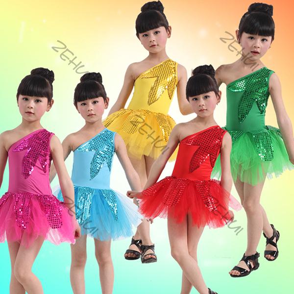 Платья для латиноамериканских танцев для девочек
