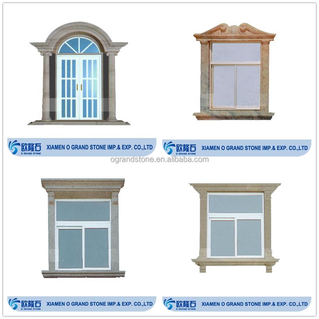 Antique Bronze Window Frame Decorative Window Molding