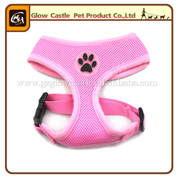 Glow Castle Fashion Paw Design Dog Harness With Soft Breathable Airmesh (7).jpg