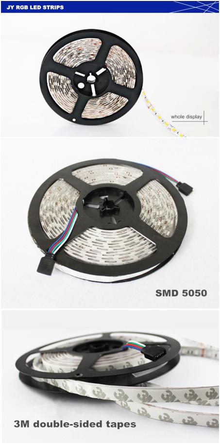 640000 colors phone control led dc strip light continuous led strip