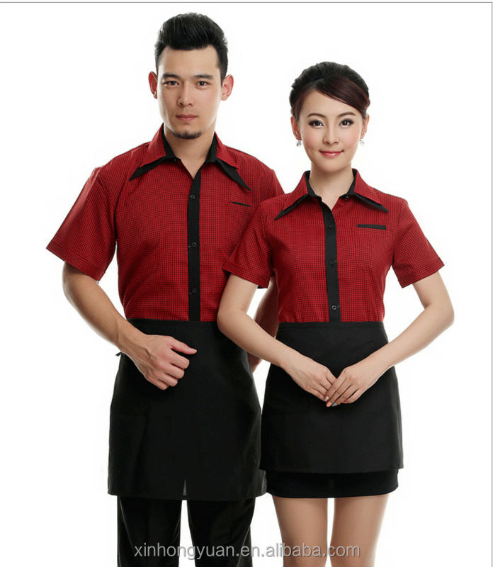 Restaurant waiter uniform designs view