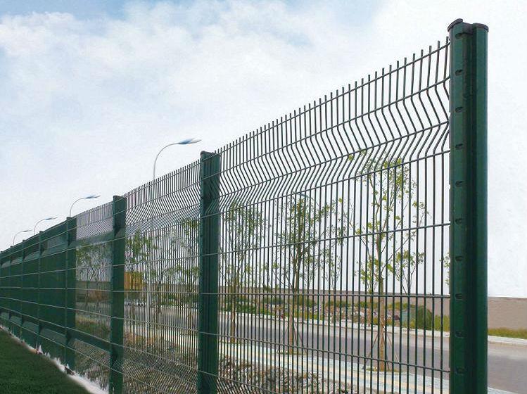 Brc wire mesh fence plastic galvanized