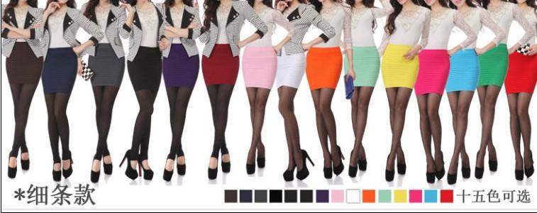 Самый дешевый Бесплатная доставка Новая мода 2014 Летняя Женщины Юбки Высокая талия цвета конфеты Плюс Размер упругой Плиссированные Короткая юбка BK001