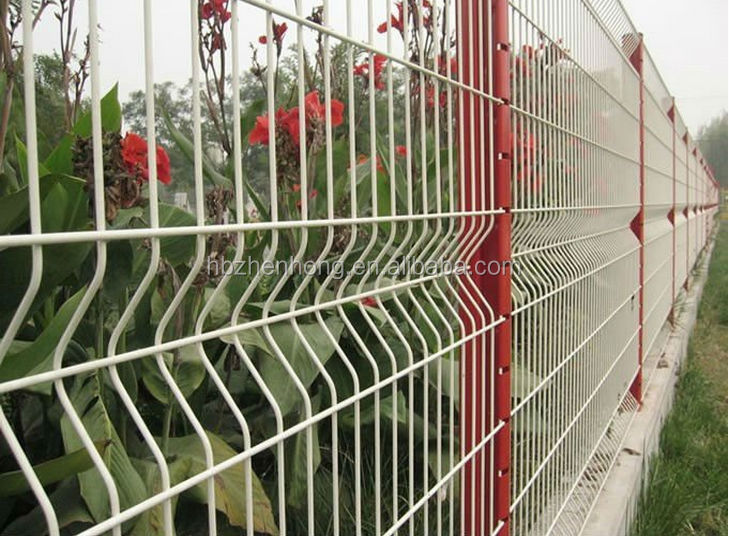 Galvanized Welded Wire Mesh Fence Galvanized Welded Wire