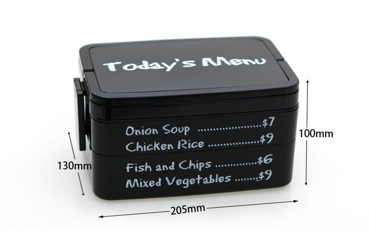 3 Layer Lunch Box with carry handle