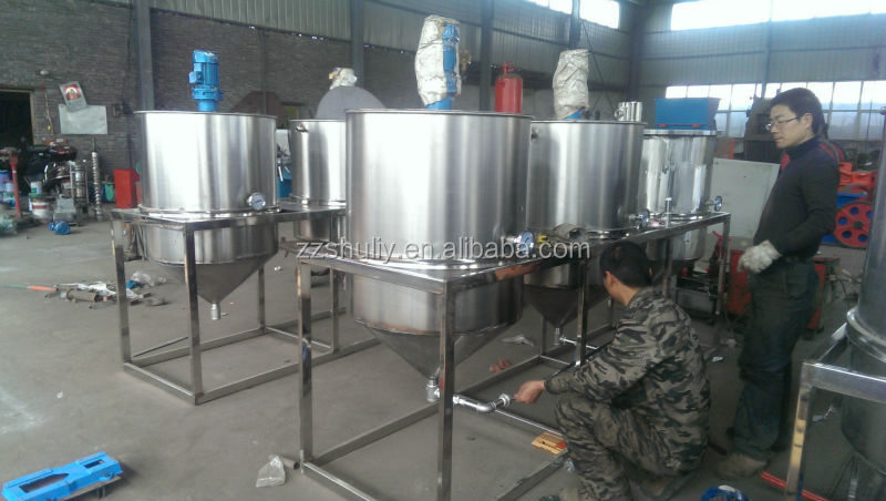 Automatic Sunflower Seed Oil Refining Machine South Africa ...