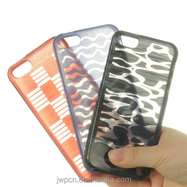 2014 New TPU soft Case Cover Skin for iPhone 5s mobile phone case, with Sea wave design on back cover