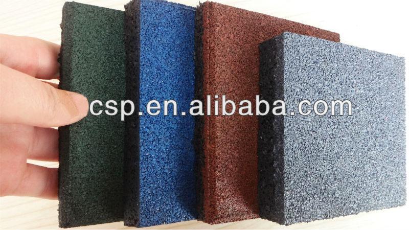 Color antid rapant rev tement de sol pour les gymnases prix piscine tapis en caoutchouc Tapis de caoutchouc recycle