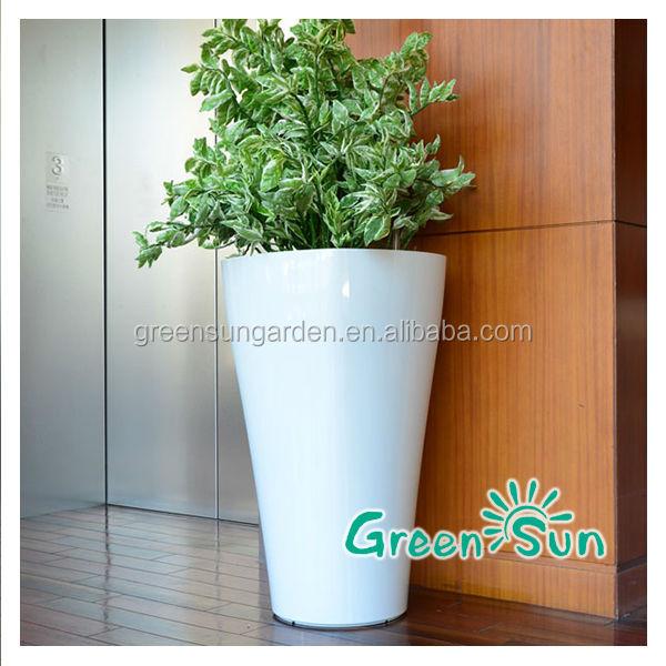 Grande taille vases d coratifs pot de fleurs en plein air grande grands planteurs vase pots - Pot de fleur grande taille ...