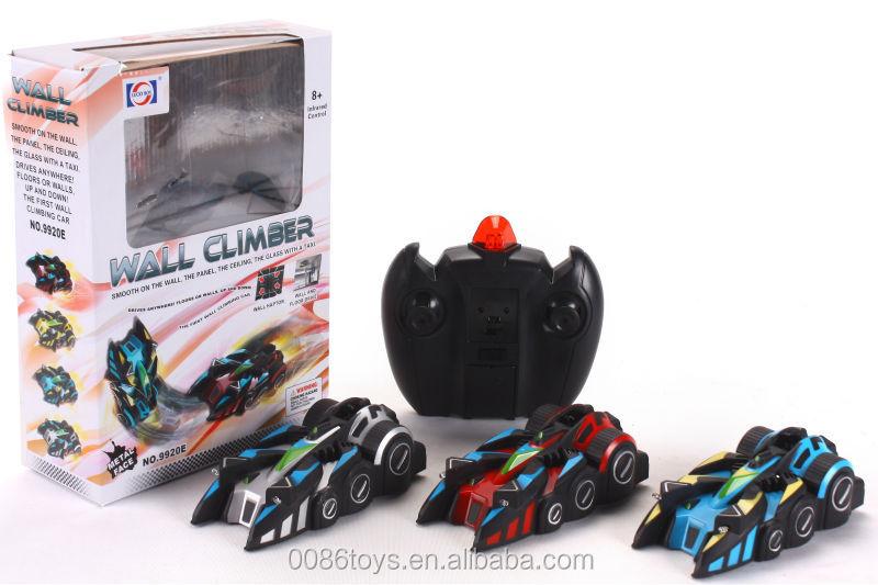 2014 Hot sale rc mini wall climbing cars