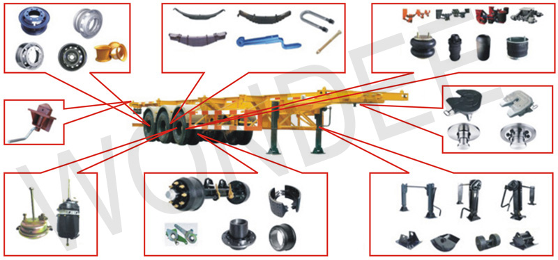 Semi Trailer Components : New products tubeless truck wheel steel