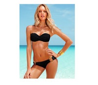 Женское бикини New Fashion best feedback high quality fashion sexy with cup swimwear swimsuit Shoulder strap Bikini BJ8838