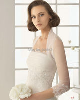 New Arrival Long Sleeves White Lace Appliques Bridal Wraps Bride Bridal Bolero For Wedding Dresses