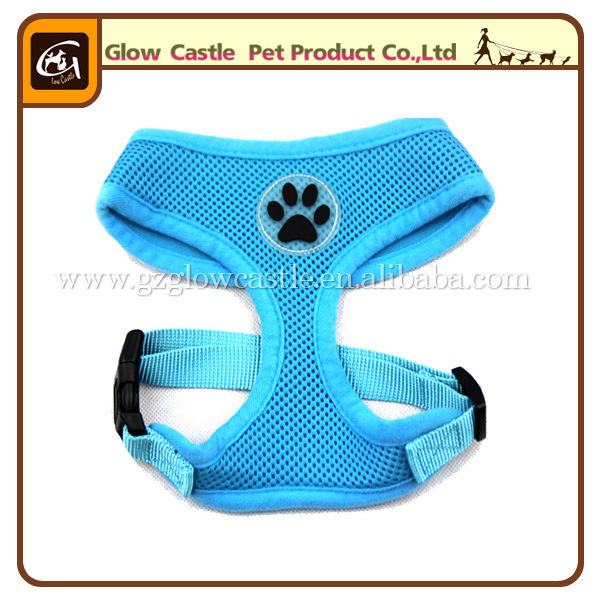 Glow Castle Fashion Paw Design Dog Harness With Soft Breathable Airmesh (2).jpg