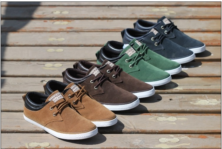 99republic | New British Style Canvas Shoes Sneakers For Men ...
