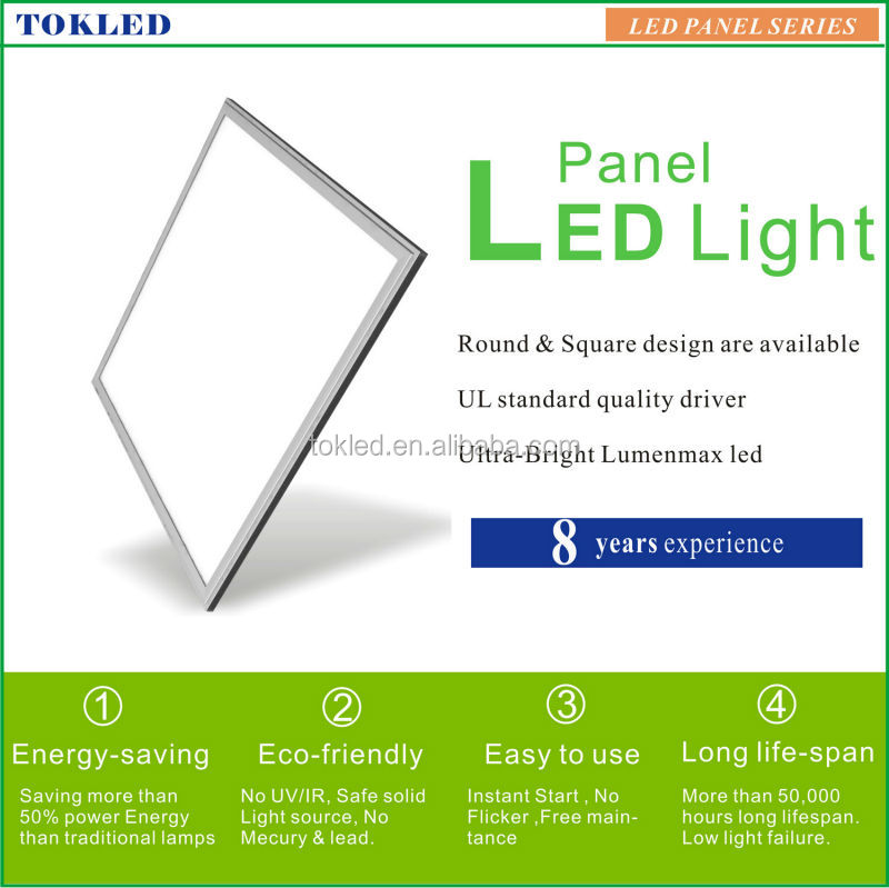 Ul Driver high Brightness 600x600mm 48W led panel