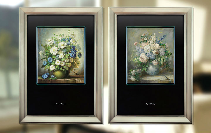 Simple Wall Decoration Wooden Frames For Oil Paintings - Buy Oil ...