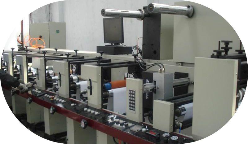 Pass Printing Machine Printing Machine Cf850/6