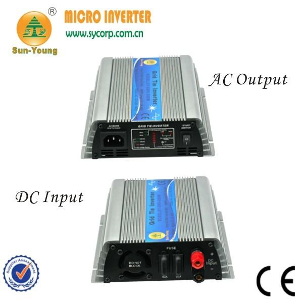 22-60V Pure Sine Wave Single Phase On-Grid 600W PV Inverters 8