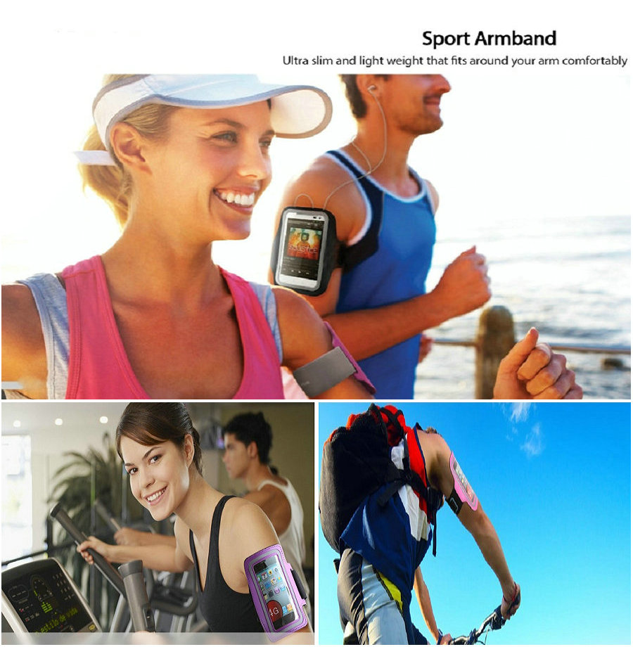 Universal sport brassard pour iPhone 5S 5 4S 4 Arm band pour iPhone 5 5S 4S 4 brassard de sport Gym brassard pour iPhone 5S 5 g 5 4