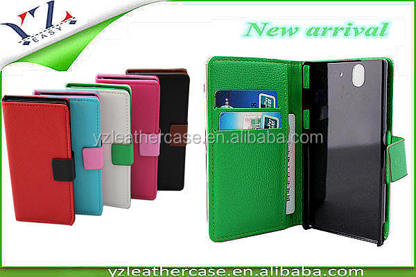 Latest western cell phone cases pu leather phone case for lenovo a390