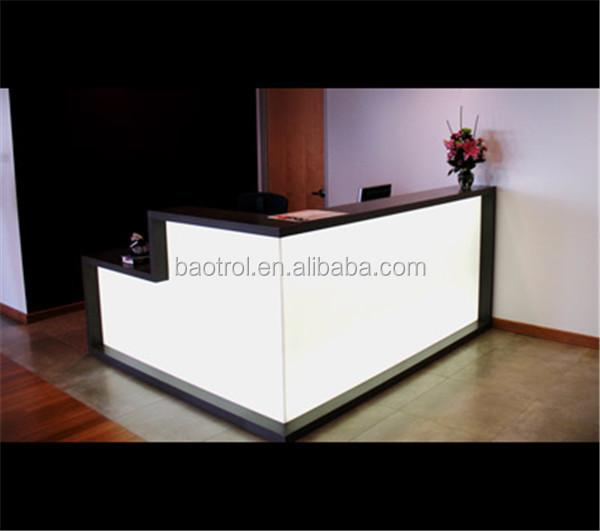 Hot Selling Solid Surface Salon Reception Desk Beauty