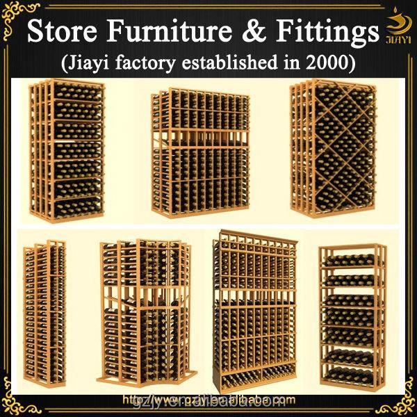 Mode casier vin en bois pr sentoir et liqueur armoire pour vin magasin d coration meubles - Coin bureau ontwerp ...