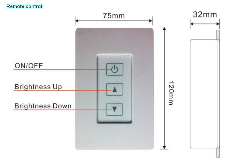 12v dc 24v dc pwm led dimmer switch view pwm led dimmer switch zengge product details from. Black Bedroom Furniture Sets. Home Design Ideas