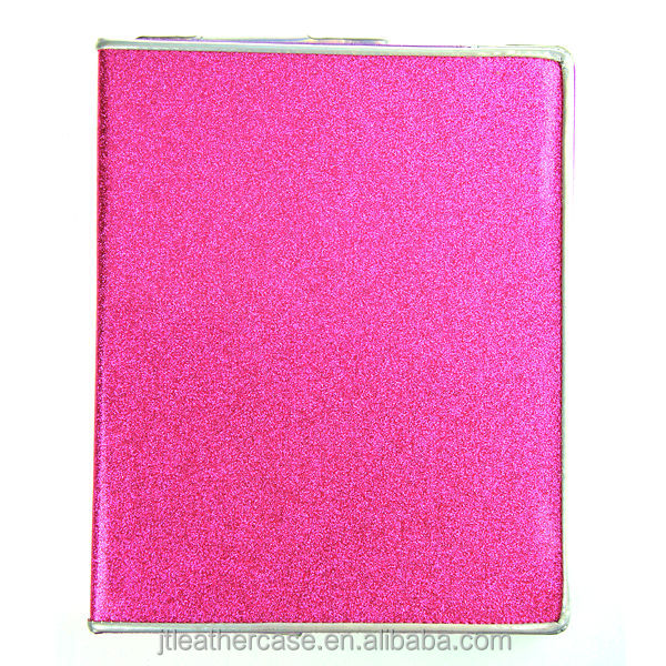 Girls stand foldable Pu/ leather cases for ipad cover for iPad 2/3/4
