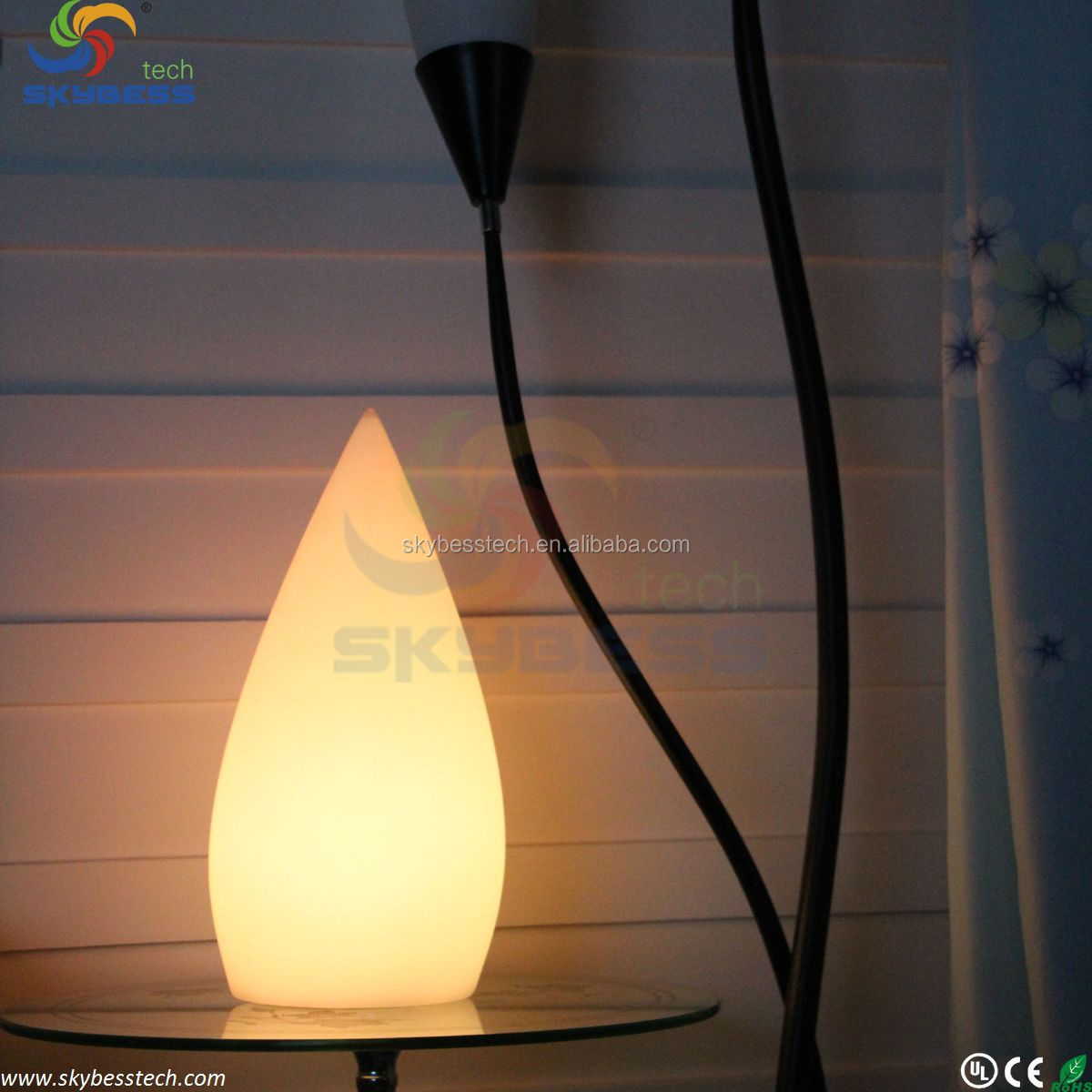 waterproof wireless cordless decorative table lamps led table lamp. Black Bedroom Furniture Sets. Home Design Ideas