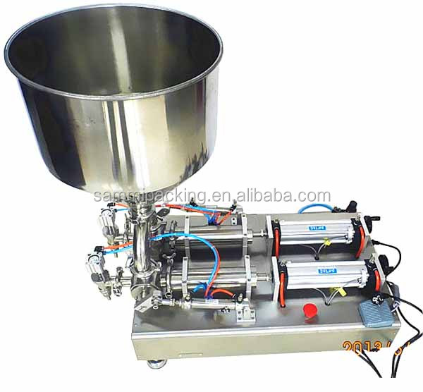 Double Heads ointment, tooth paste, hand cream filling machine 500-5000ml