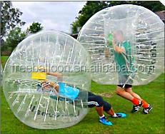 China inflatable adult bubble football, bumper ball, body zorb ball