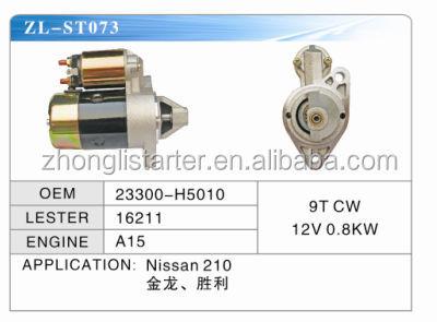auto starter motor for Nissan OEM: 23300-H5010
