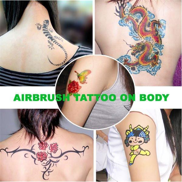 Трафарет для татуировок 4