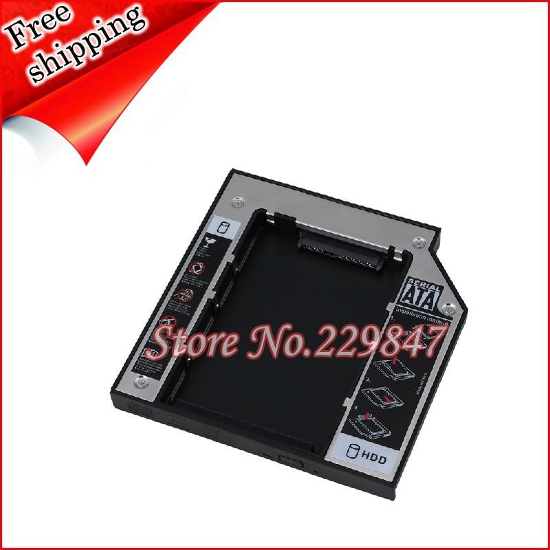 2nd Hard Drive HD HDD SSD Case Caddy for Asus UL80VT-A1 UL80JT UL80V UL80 GU10N