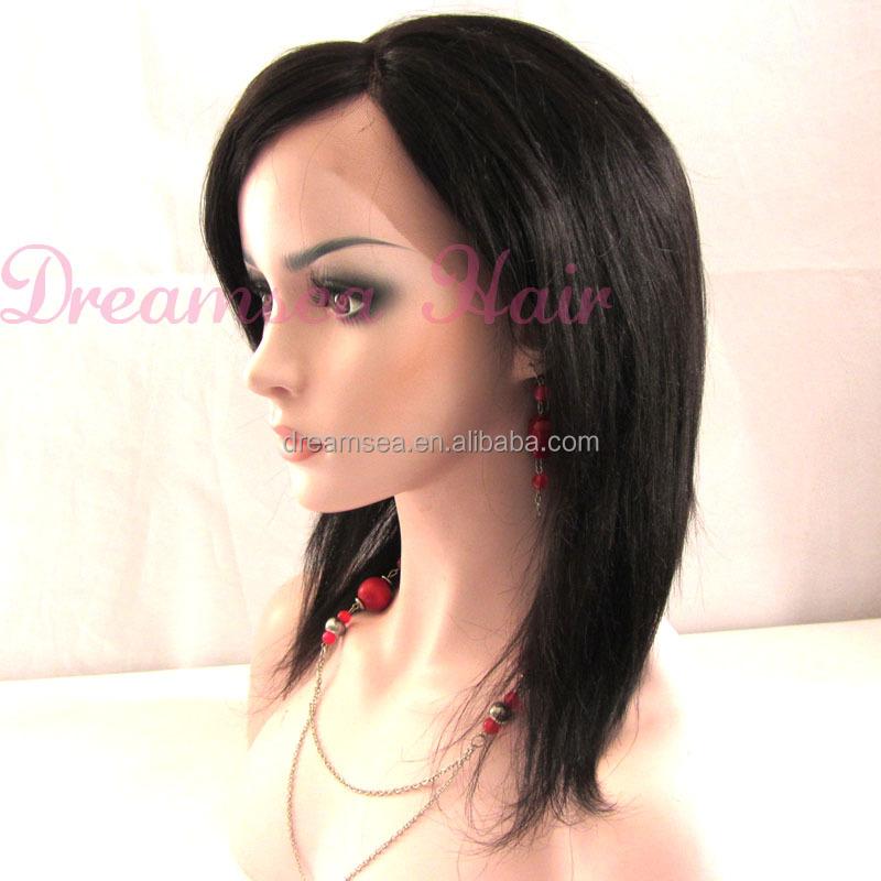 Malaysian Straight Hair Side Part Malaysian Virgin Hair Side