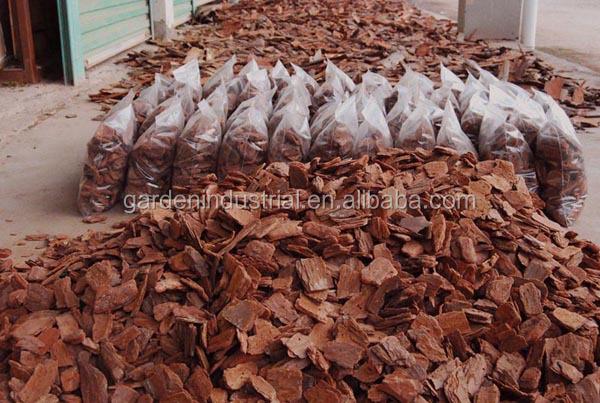enfeites para jardim japones:Pine Bark Mulch