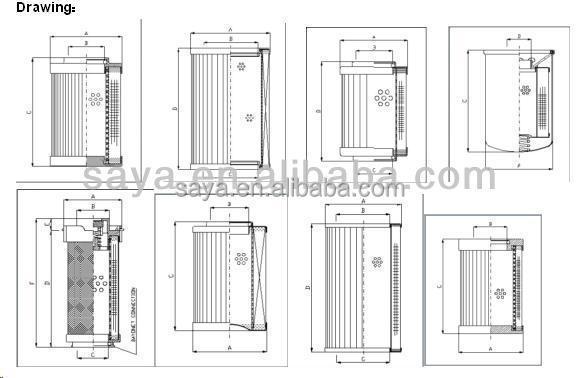 interchange hydraulic filter element 1r parker 939114q