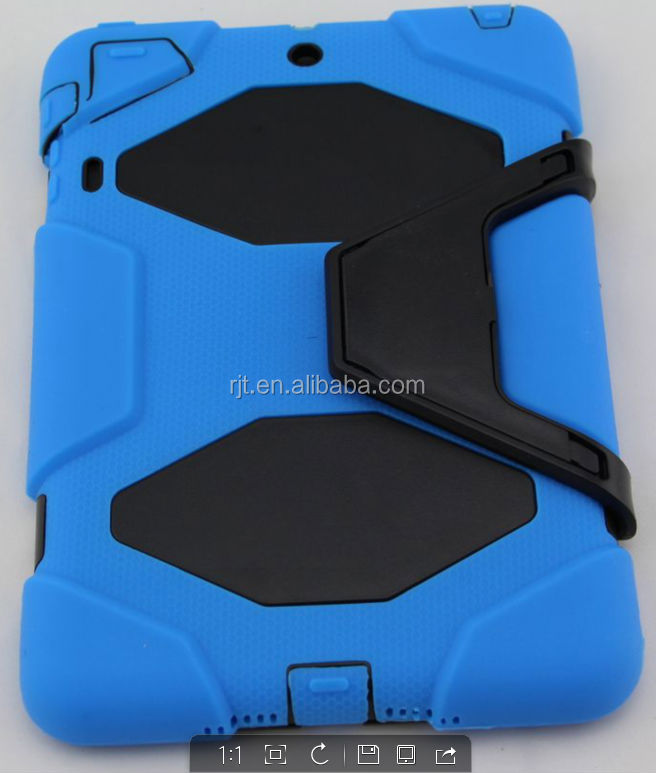 Wholesale Shockproof case for ipad mini case, hybrid ipad mini case