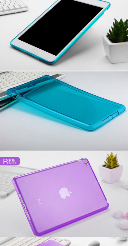 Factory price tablet pc rubber cover TPU case for ipad mini 2 rubber case tablet, laptop case for ipad mini 2