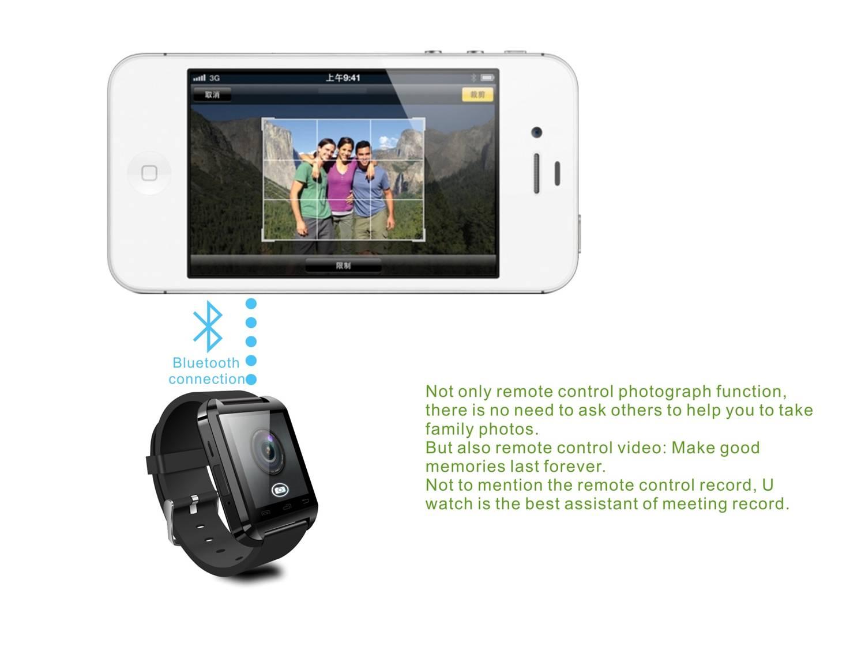 Bluetooth Smart Watch / Bluetooth Watch/ Wrist Watch for Smart Mobile Phone