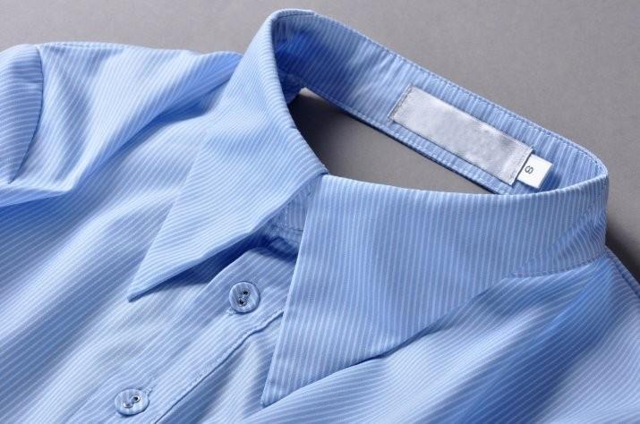 Высокое качество новый 2015 взлетно-посадочной полосы мода женщин новинка назад об открытой асимметричный дизайнер рубашка